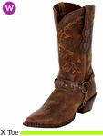 Crush by Durango Women's Brown Heartbreaker Boot RD4155