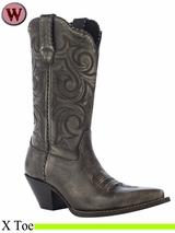 Crush by Durango Women's Scall-Upped Western Boot RD5441
