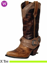 Crush by Durango Women's Spur Strap Western Boot DCRD172