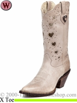 Crush by Durango Women's Taupe Heartfelt Boot rd3421