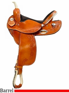 "** SALE ** 14"" to 16"" Dakota Barrel Saddle 345"