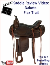 Dakota Flex Tree Trail Saddle Review Video