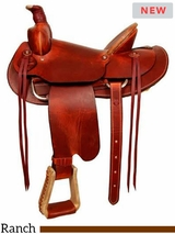 Dakota Working Ranch Saddle 557