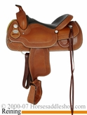 "DISCONTINUED 15.5"" Crates Ladies Reining Saddle 4522"