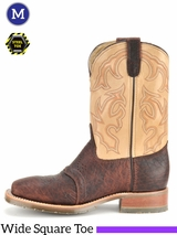 Double-H Mens 11 in. Domestic Bison Steel Toe ICE Roper DH5305