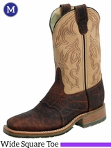 Double-H Mens 11 in. Domestic Bison Wide Square Toe ICE Roper DH4305