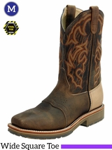 Double-H Mens 11 in. Domestic Wide Square Steel Toe ICE Roper DH3567
