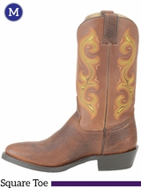 Double-H Mens 12 in. Domestic Work Steel Toe Western Boots DH5517