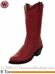 Durango Women's Red Leather Western Boot rd4105