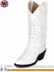 Durango Women's White Leather Western Boot rd4111