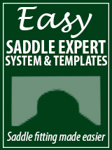 Easy Saddle Expert System and Templates:  Saddle fitting made easier.