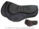 "Fabri-tech Cush-n-air <br>Contest Saddle Pad 28"" x 28"" p7702"