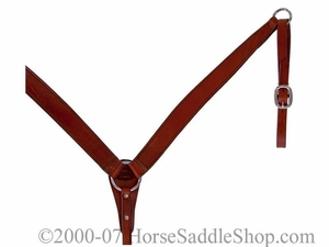 Fabtron Breast Collar--Chestnut 70202