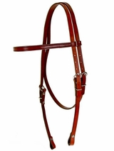 SOLD OUT Fabtron Browband Headstall--Chestnut 70212