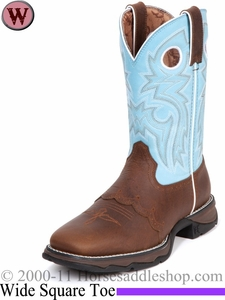 Flirt with Durango Women's Brown Powder n' Lace Boot rd3471