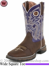 Flirt with Durango Women's Ink Saddle-Lace Western Boot rd3576