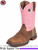 Flirt With Durango Women's Tan Blush n' Lace Boot rd3474