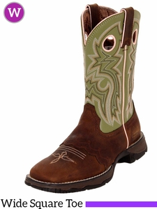 ** SALE ** Flirt With Durango Women's Tan Saddle-Lace Western Boots RD3573