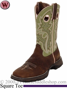 Flirt With Durango Women's Tan Saddle-Lace Western Boots RD3573