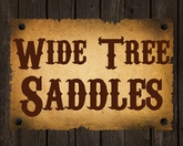 FQHB Saddles - Wide Tree