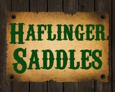 Haflinger Saddles