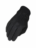Heritage Black Suede Winter Gloves HG288