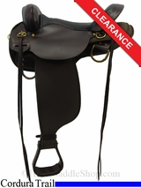 """SOLD 2015/11/17 15"""" High Horse by Circle Y Highbank Cordura Trail Saddle 6916"""