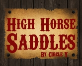 High Horse Saddles by Circle Y