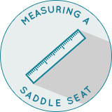 How to Measure a Western Seat