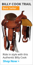 Billy Cook Western Trail Saddle