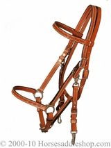 Just-B-Natural Circle Y Halter Bridle Border Tool 0605-94
