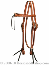 Just-B-Natural Circle Y Shaped Headstall-Border Tool 0206-94
