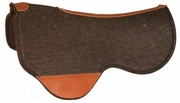 Just-B-Natural Dropped Front Close Contact Skirt Felt Pad 74 By Circle Y