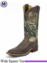 Justin Boots Men's America Chocolate Boots BR355