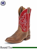 Justin Boots Men's Bent Rail Arizona Tan Boots BR335