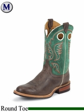 Justin Boots Men's Bent Rail Chocolate America Boots BR370
