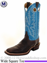 Justin Boots Men's Bent Rail Chocolate Puma Boots BR377
