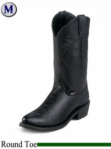 Justin Boots Men's Farm & Ranch Black Cow Boots JB1104