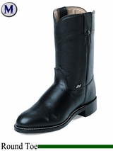 Justin Boots Men's Farm & Ranch Black Cow Boots JB3000
