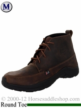 Justin Boots Men's Waxy Caramel Tan Casual Boots 195