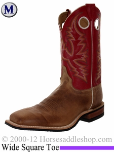 Justin Boots Men's Western America Tan Boots BR358