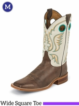 Justin Boots Men's Western Chocolate America Boots BR313