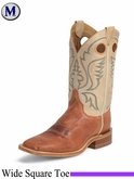 Justin Boots Mens Bent Rail American Burnt Orange Calf BR308