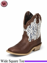 SOLD 2015/03/16 Justin Boots Women's Brown Gypsy Boots L9851