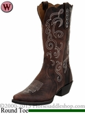 Justin Boots Women's Chocolate Puma Cow Boots L2702