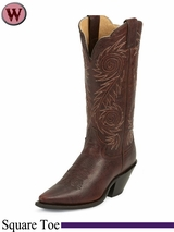 DISCONTINUED Justin Boots Women's Cognac Damiana Fashion Boots L4333