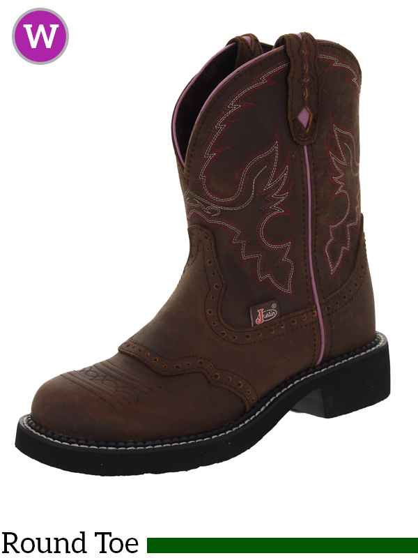 Awesome Justin Womens L9907 L9909 Gypsy Boots