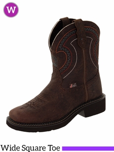Justin Boots Women's Justin Gypsy Barnwood Brown Cowhide Boots L9997