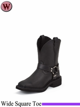 DISCONTINUED Justin Boots Women's Justin Gypsy Black Crazy Horse Harness Boots L9991