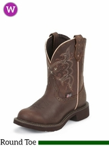 Justin Boots Women's Justin Gypsy Cafe Brown Apache Boots L9995
